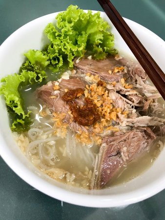 Best Duck rice vermicelli soup