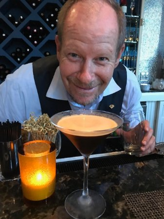 Maritana Grille at The Don CeSar: Jeff Brown with his famous espresso martini!