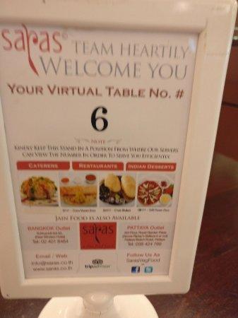 Saras, Pure Vegetarian Indian Restaurant: IMG-20171103-WA0114_large.jpg