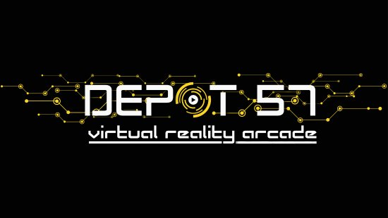 DEPOT57 Virtual Reality Arcade: sign from website