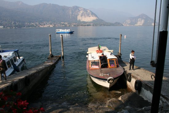 Isola Bella: one of the infamous ferries