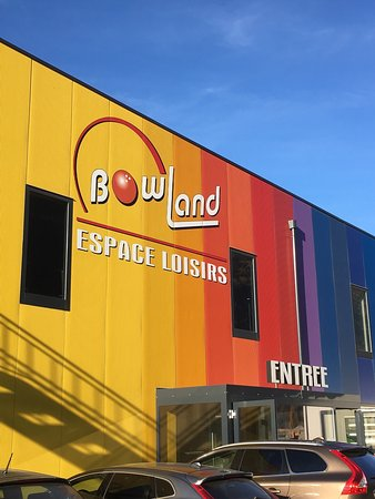 Martigny, สวิตเซอร์แลนด์: Le Bowland nouveau est arrivé