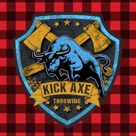 ‪Kick Axe Throwing‬