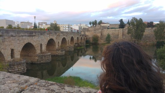 El Pestorejo: Puente Romano de Mérida. Sólo por llegar a Mérida y pasearlo mereció la pena ir.