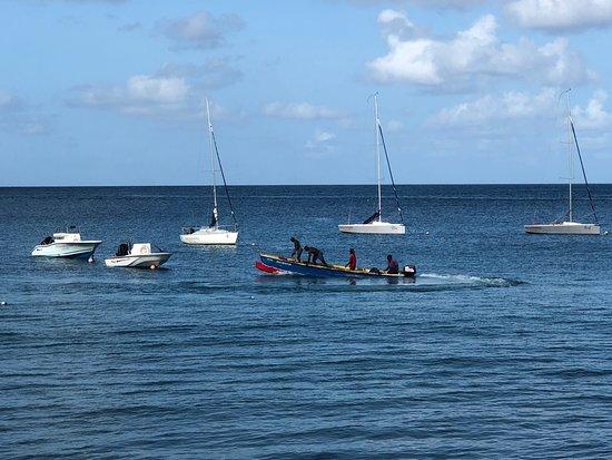 Cap Estate, St. Lucia: Local fisherman