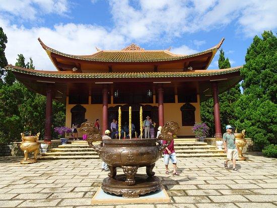 Thien Vien Truc Lam: пагода