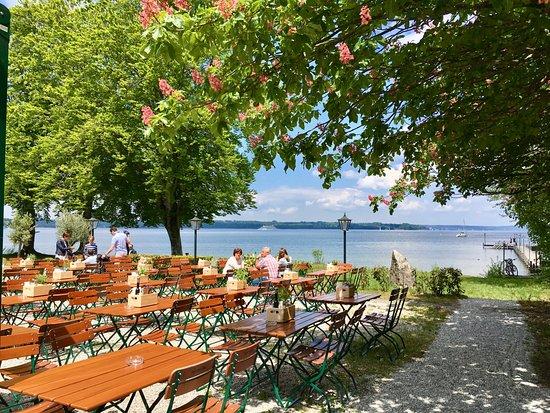 Seeshaupt, Almanya: Wunderschöne Seetrasse
