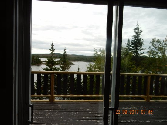 Mary's Harbour, Canada: The view from the Dining room