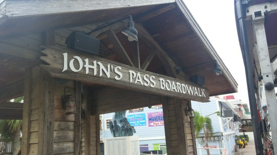 John's Pass Village and Boardwalk: John's pass boardwalks and pier ................................................?...............