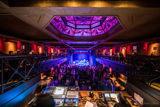 Jersey City, NJ: Photo from Above the Soundbooth in the Balcony