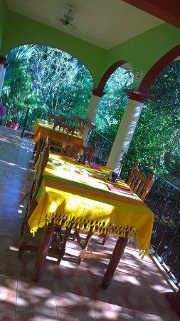 Санта-Елена, Мексика: Sillas y mesas