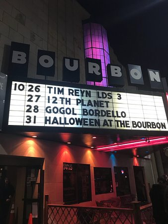 The Bourbon Theatre