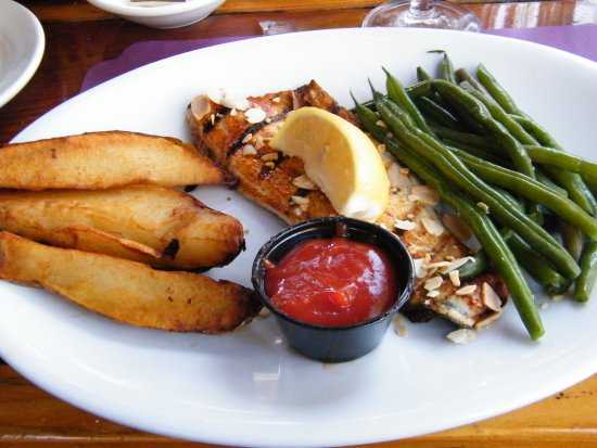 Idyllwild, CA: rainbow trout with great sides