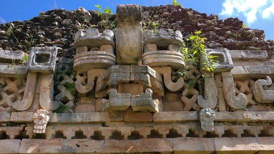 Chaac El Dios De La Lluvia Bild Von Labna Halbinsel Yucatan