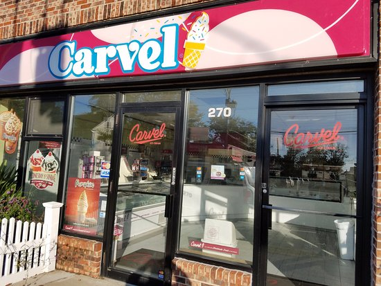 Williston Park, Νέα Υόρκη: Great neighborhood Carvel - best ice cream in the area!