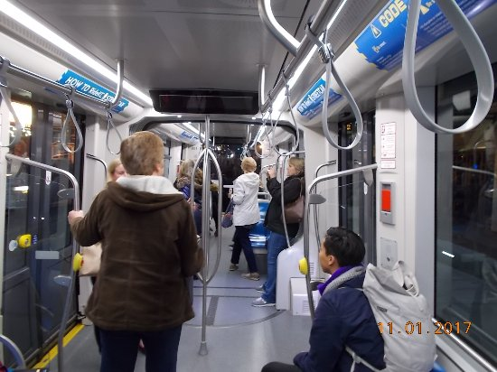 Missouri City, MO: Inside streetcar