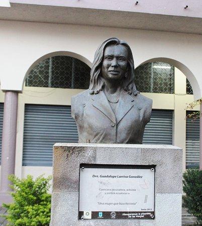 Monumento a Guadalupe Larriva Gonzalez