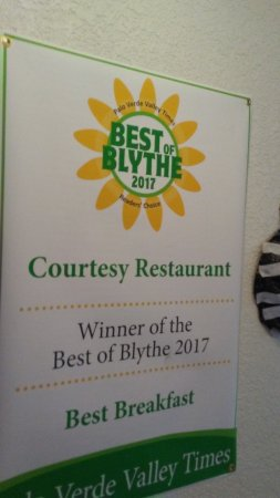 Blythe, CA: a winner