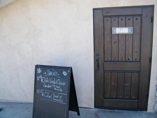 Blythe, CA: entranceway