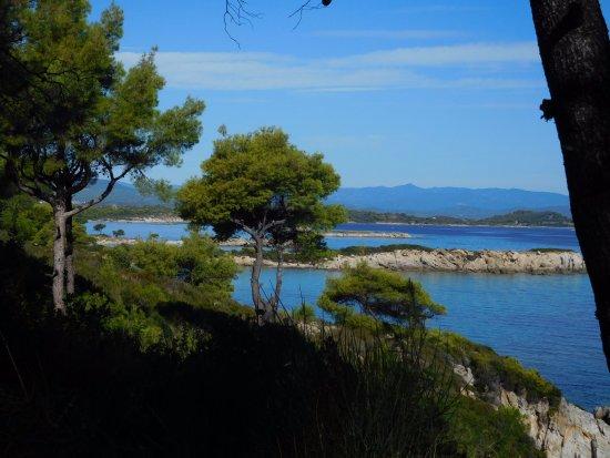 Op Het Schiereiland Sithonia In Griekenland Kom Je De Meeste