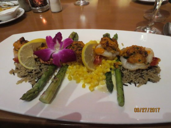SWITCHBACK GRILLE & TRADING COMPANY : Crab-stuffed Shrimp