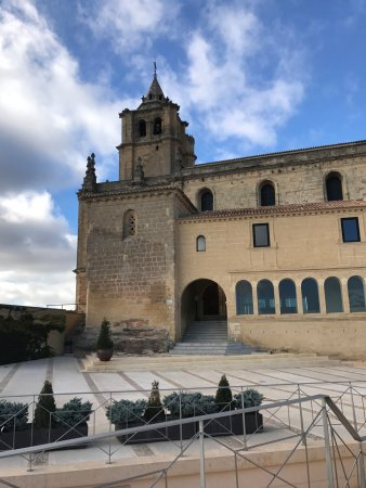 Alcala la Real, สเปน: Church building at Alcala