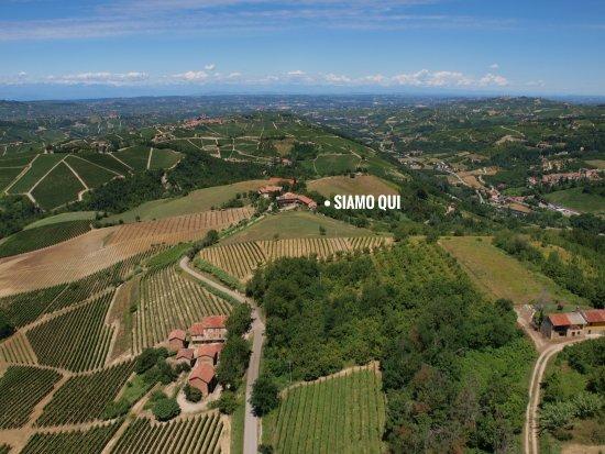Sinio, Italy: Il panorama