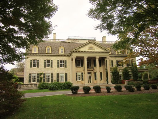 George Eastman Museum: Front of George Eastman Mansion