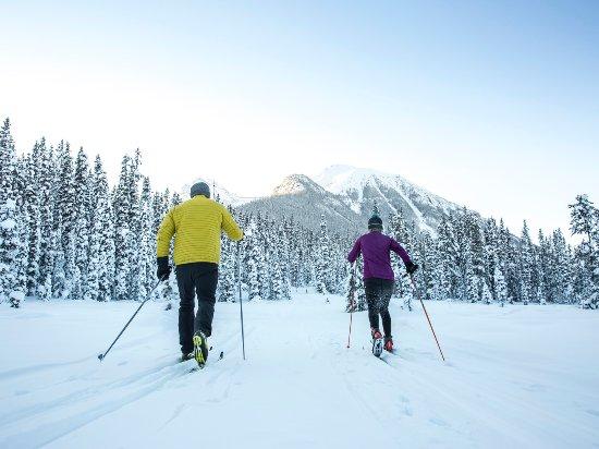 Lake Louise, Canada: Cross-country skiing