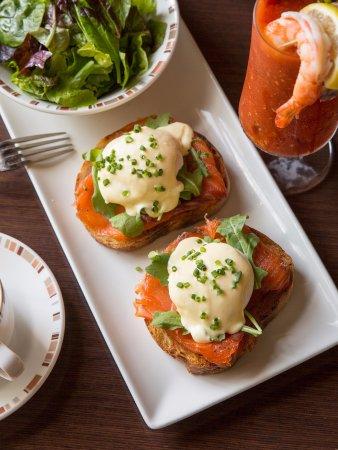 Wayne, Пенсильвания: Paramour Eggs Benedict