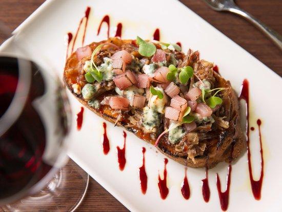 Paramour at Wayne Hotel: Duck Confit Toast