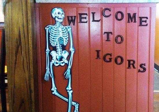 Rock Island, IL: Igor's Bistro - Welcome to Igor's