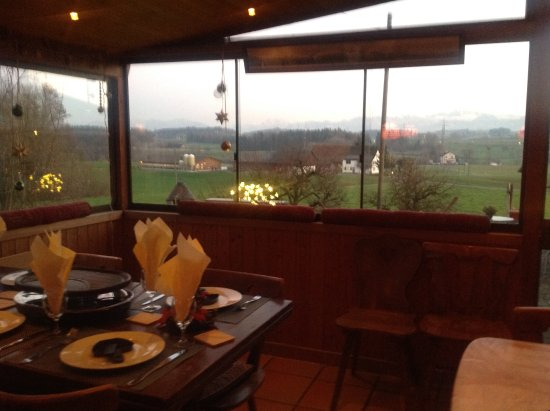 Besenbeiz Rotblattstübli: Raclette essen