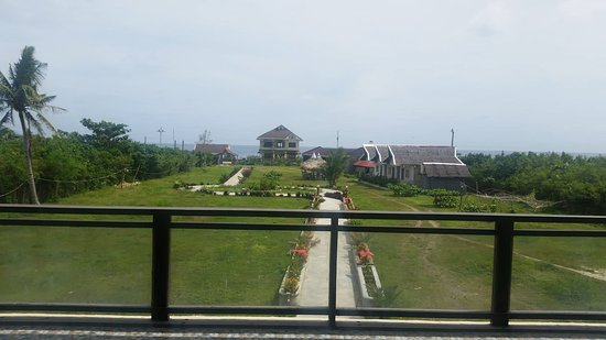 Visayas, Filippinene: New conference rooms balcony view