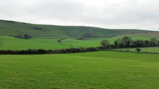 Wilmington, UK: the long man from Wilmingtom