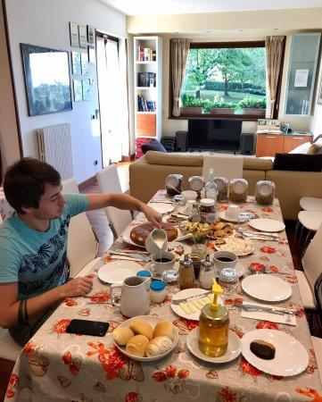 B&B Villa Beatrice: Очень вкусные и не забываемые завтраки 😍👍