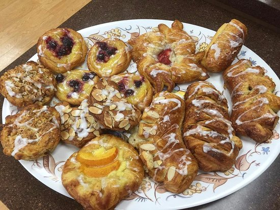 Martinsville, VA: Pastries available at the bakery.