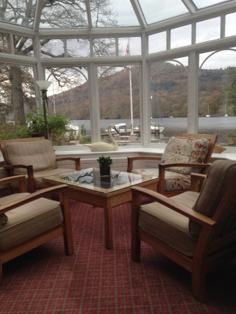 Lakeside Hotel: View from the conservatory