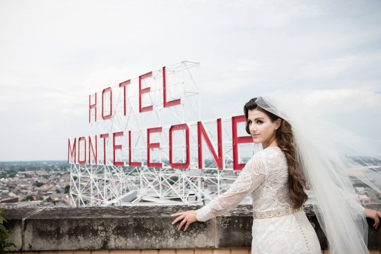 Hotel Monteleone: Rooftop famous Hotel sign