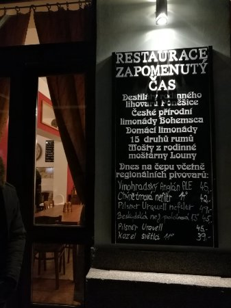 Great bar - Restaurant Zapomenuty Cas, Prag Resmi - Tripadvisor