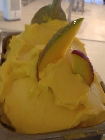 Sneads Ferry, Carolina do Norte: Mango Nectarine Sorbet
