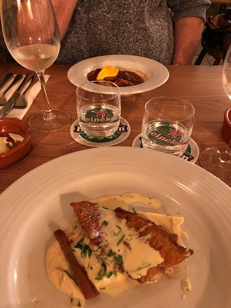 Newlyn, UK: I don't think we've ever had such good food we immediately went back the next day!