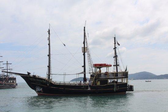 Canasvieiras, SC: Escuna Capitão Gancho