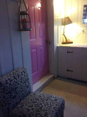 Lubec, ME: Eastland Motel Cottage mudroom