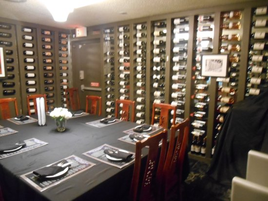 Blue Bamboo : Wine Room - for private parties