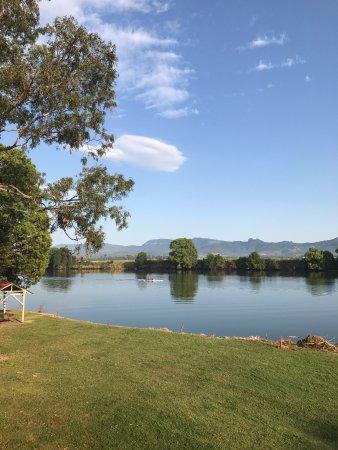Tweed River Motel: View from verandah