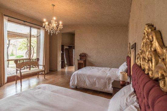 Elegantes habitaciones con decoracin de estilo colonial Picture