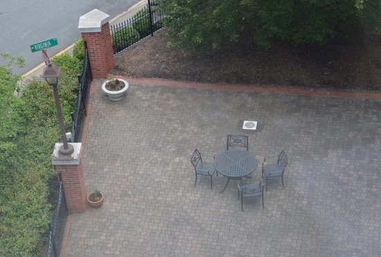 Mount Airy, NC: Courtyard from above