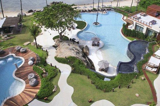 Laem Set, Tailândia: Pool View
