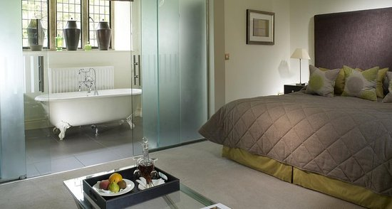 Lower Slaughter, UK: Deluxe Room Bathroom